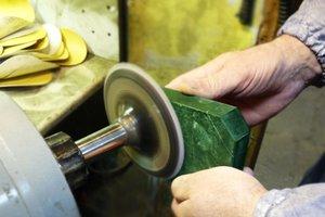 Обработка природного поделочного камня